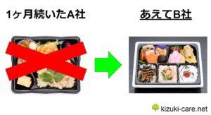 手順③:概ねお気に入りの宅配弁当を絞る