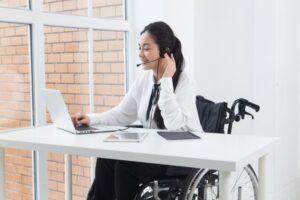 車椅子の人は障害者雇用での就職が手厚い